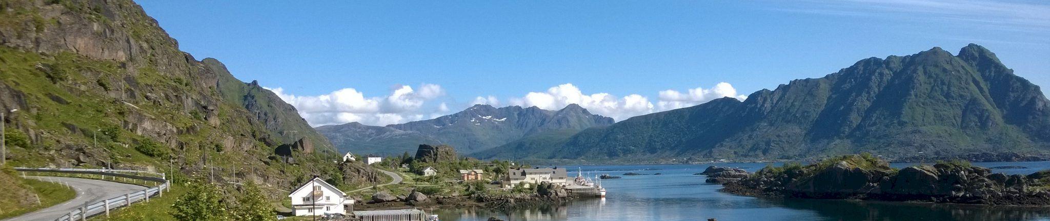 Norjalainen vuoristomaisema